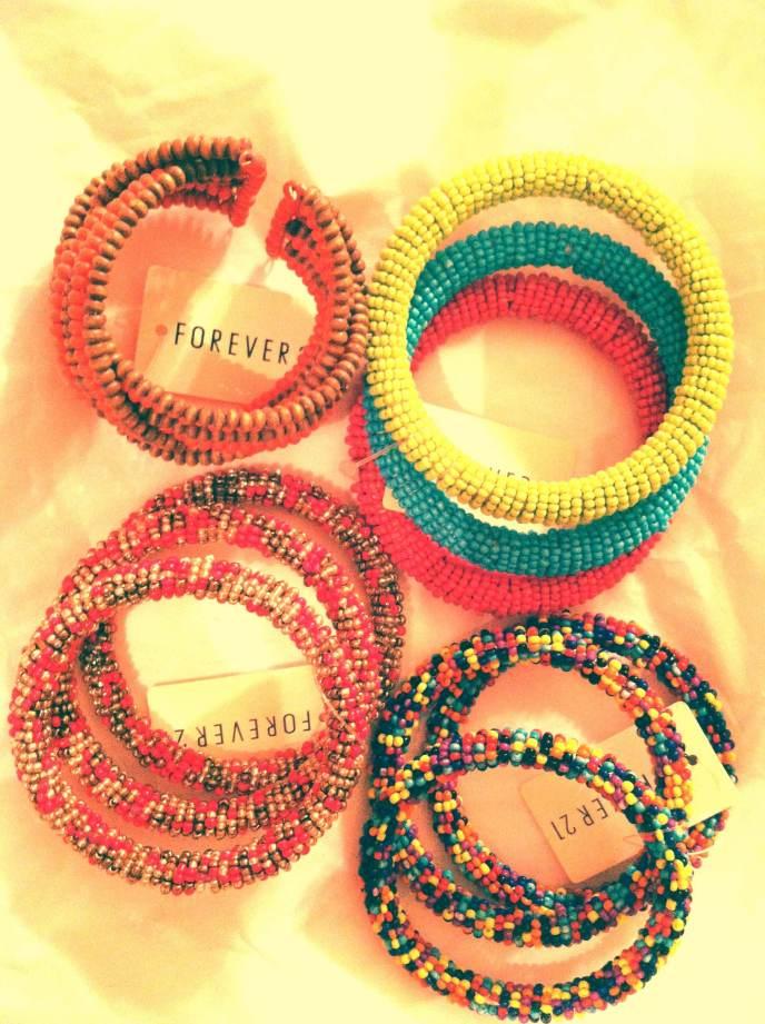 Bracelets from Forever 21