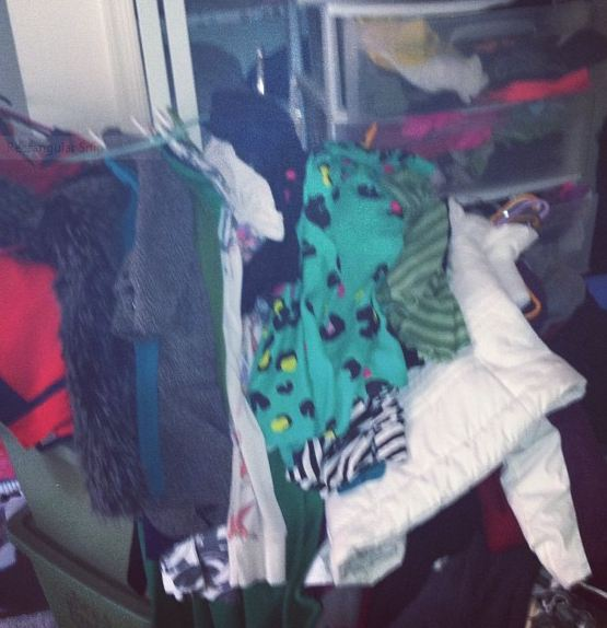 Help! My closet is exploding!