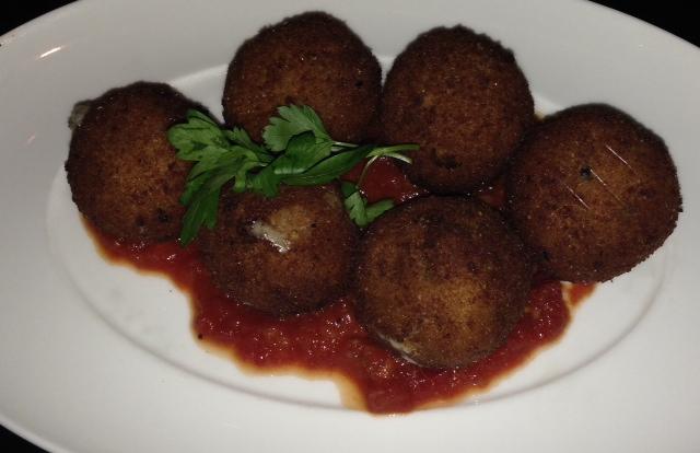 RPM Italian Arancini Balls