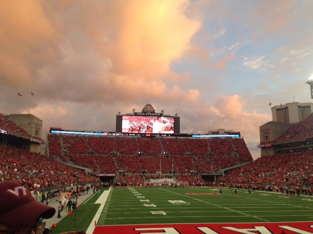 Ohio State Stadium Field