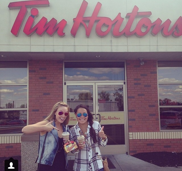 First Tim Horton's Experience