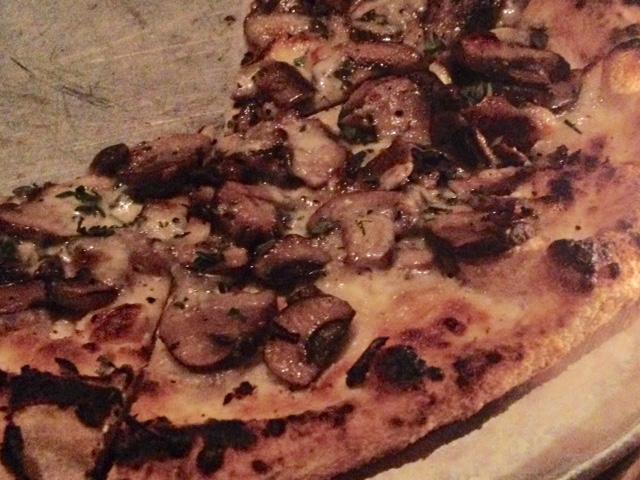Mushroom Pizza Gjelina