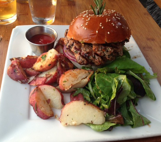 Venice Ale House Lamb Burger