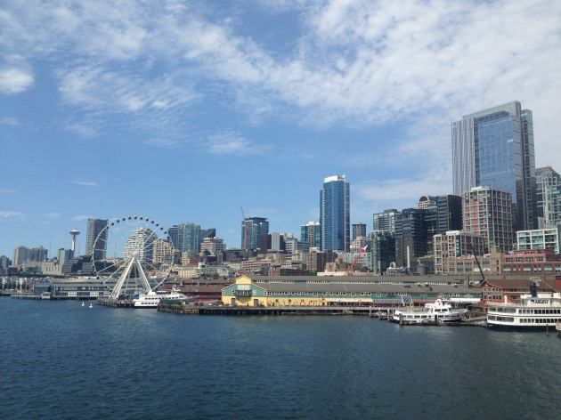 View of City from Ferries