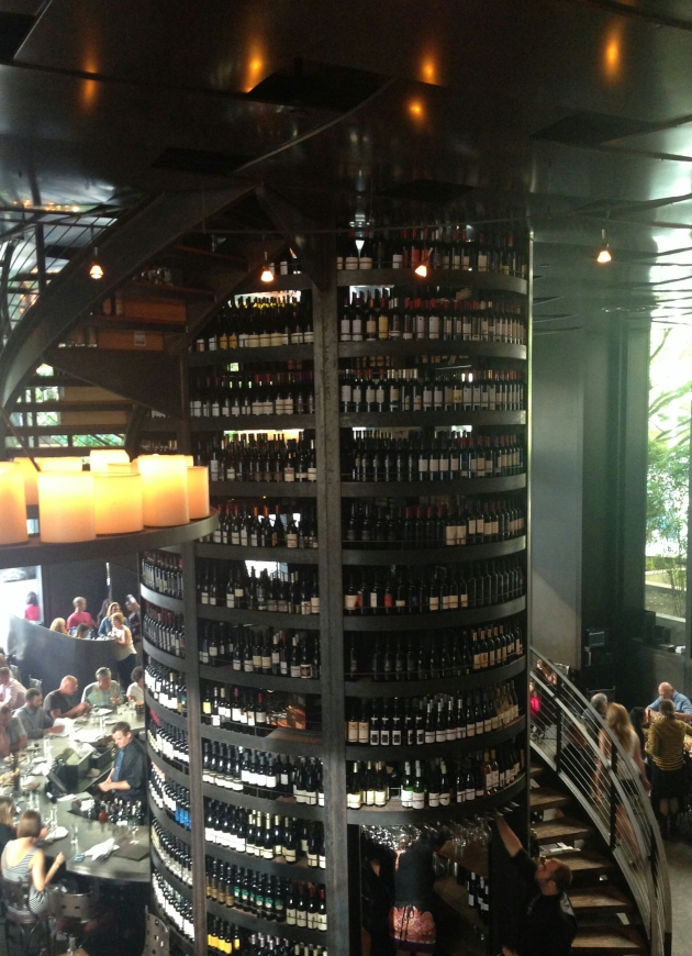 Wines at Purple Cafe and Wine Bar, Seattle
