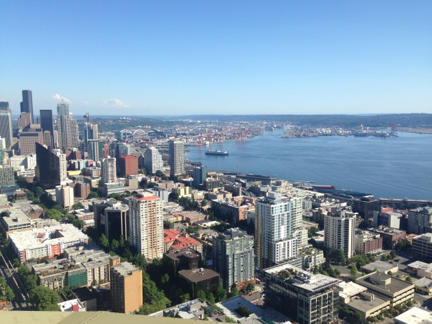 View from Space Needle, Seattle
