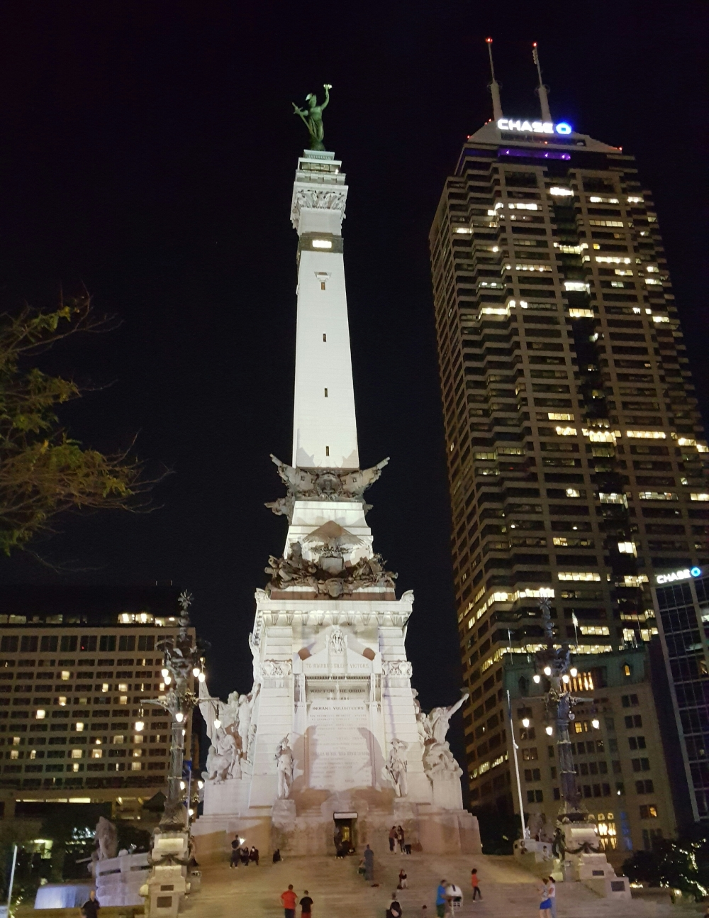 Soldiers and Sailors Monument Indianapolis