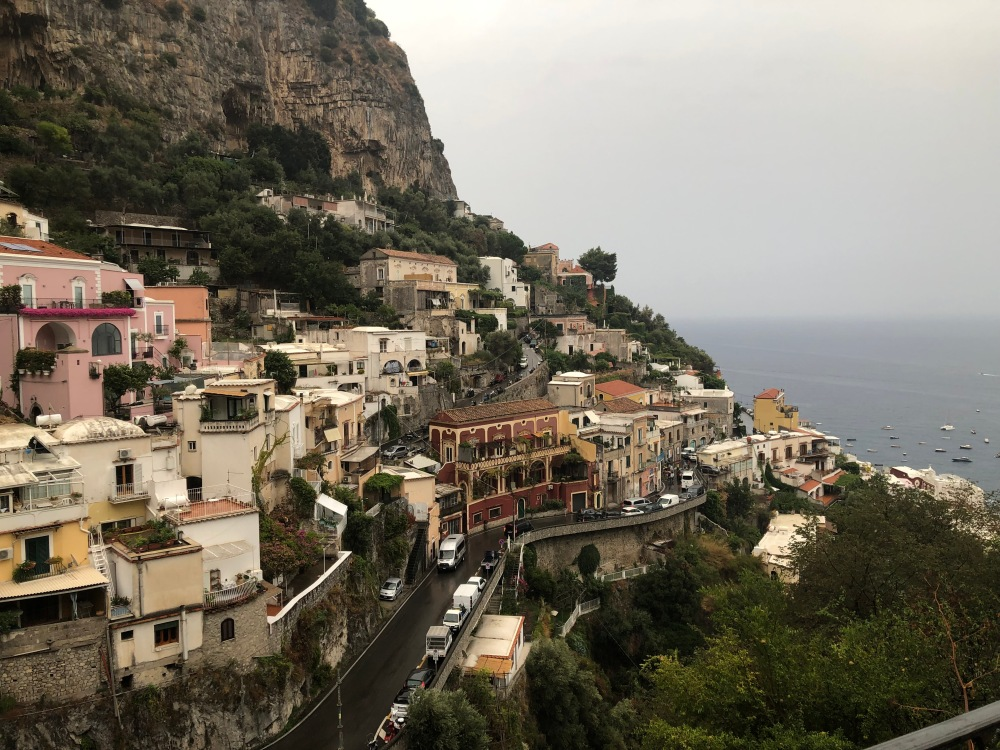 Winding Roads of Positano